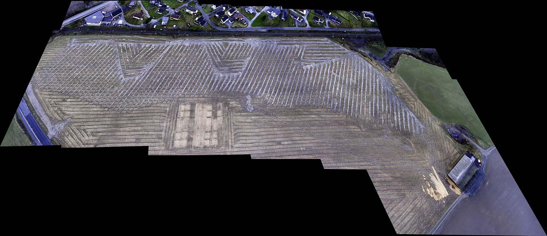 Drone til dokumentasjon i landbruket