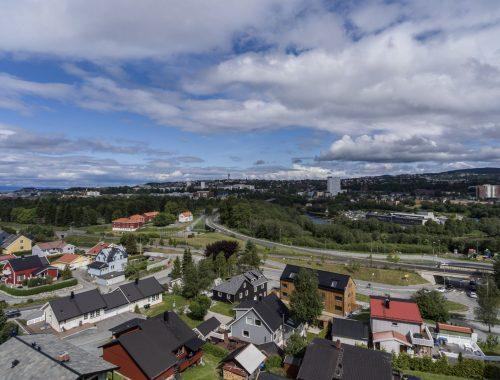 Dronebilder av hus/tomt
